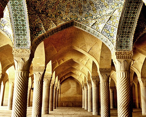 Iran-Trip to Iran-trip-traveling to Iran-tourism-tourism attractions-Iran   attractions-Iran destinations-fars-shiraz-vakil mosque-shiraz mosques-Islamic architecture-vaults-