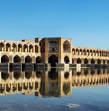 Iran-Trip to Iran-trip-traveling to Iran-tourism-tourism attractions-Iran attractions-Iran destinations-Isfahan-old bridge-old bridges of Isfahan-khajou bridge-vaults